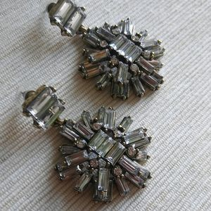 Art Deco Inspired Drop Earrings